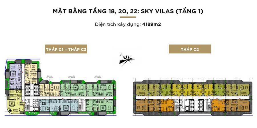 sky villa 18